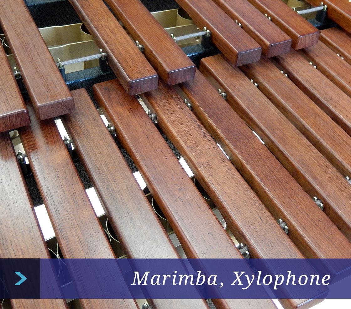 Marimba, Xylophone